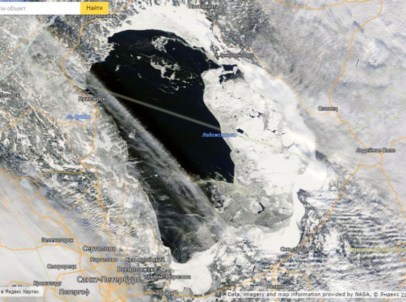 Прогноз ледовых условий на финском заливе и ладоге с 23 по 27 апреля: лёд разрушается