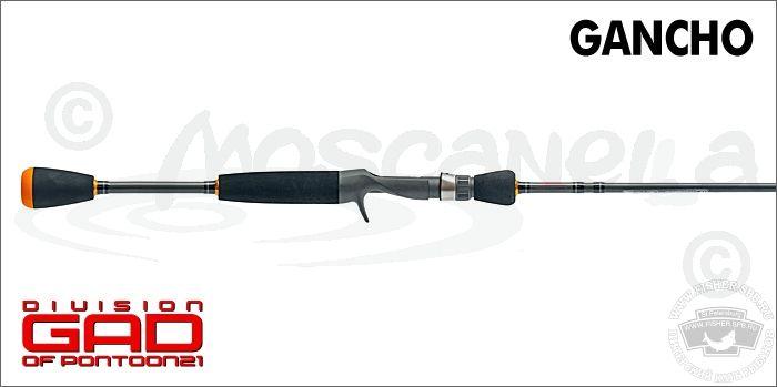 удилище кастинговое pontoon21 gad gancho gan702mlf-c