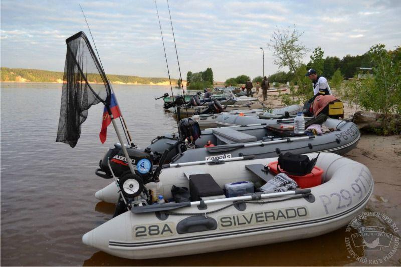 лодка silverado 28a