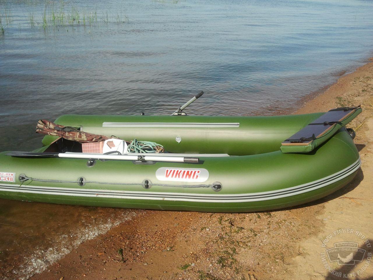 Стеклопластиковая лодка LAKER 410 - Первый спуск