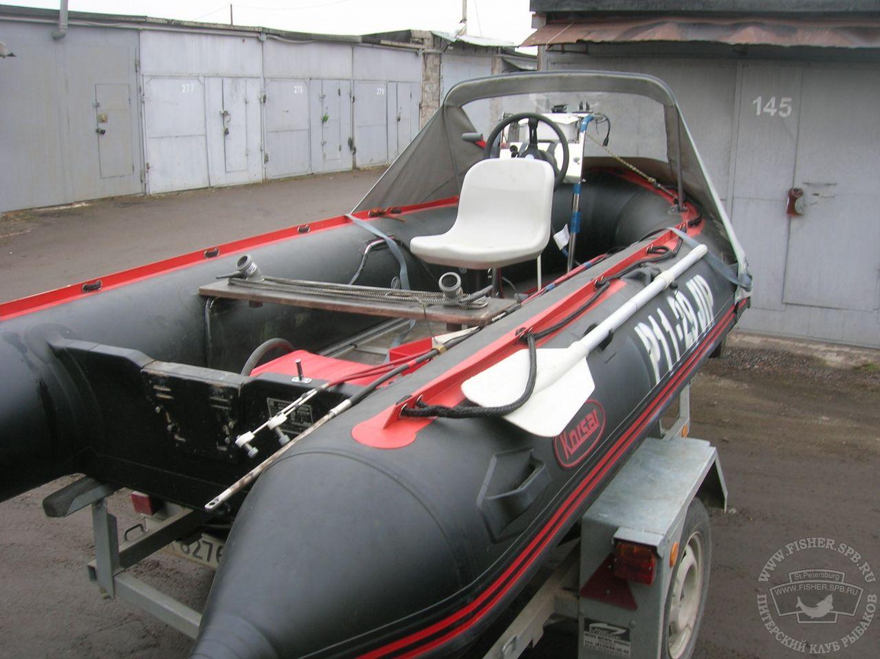 Тюнинг лодки пвх своими руками