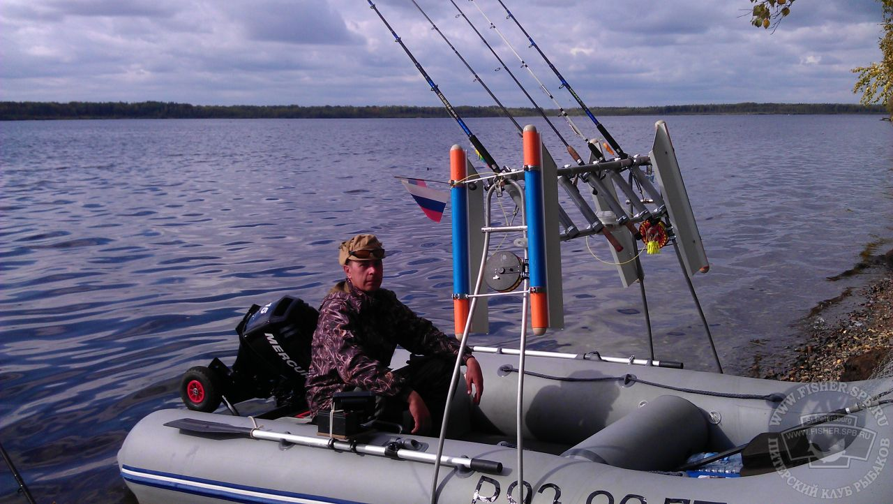 Тарга для лодки своими руками 725