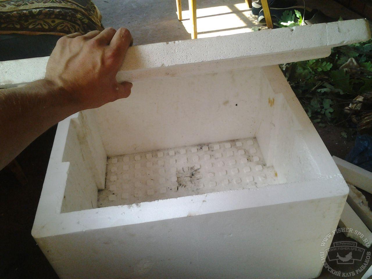 Холодильник своими руками из пенопласта Статьи 11
