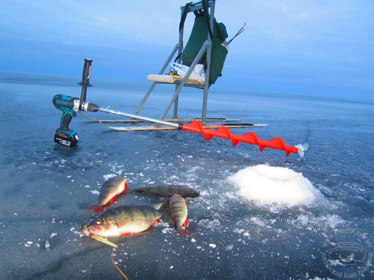 ладожские рыбаки
