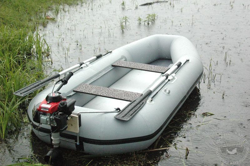 маломощный мотор для резиновой лодки