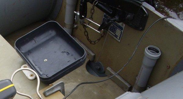 замок струбцины для лодочного мотора