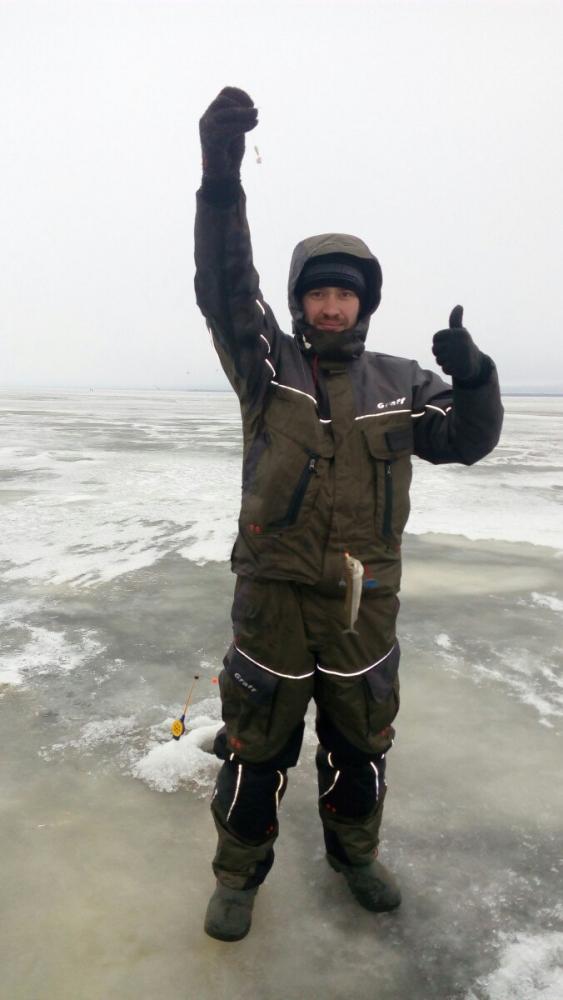 рыбалка на дамбе финского