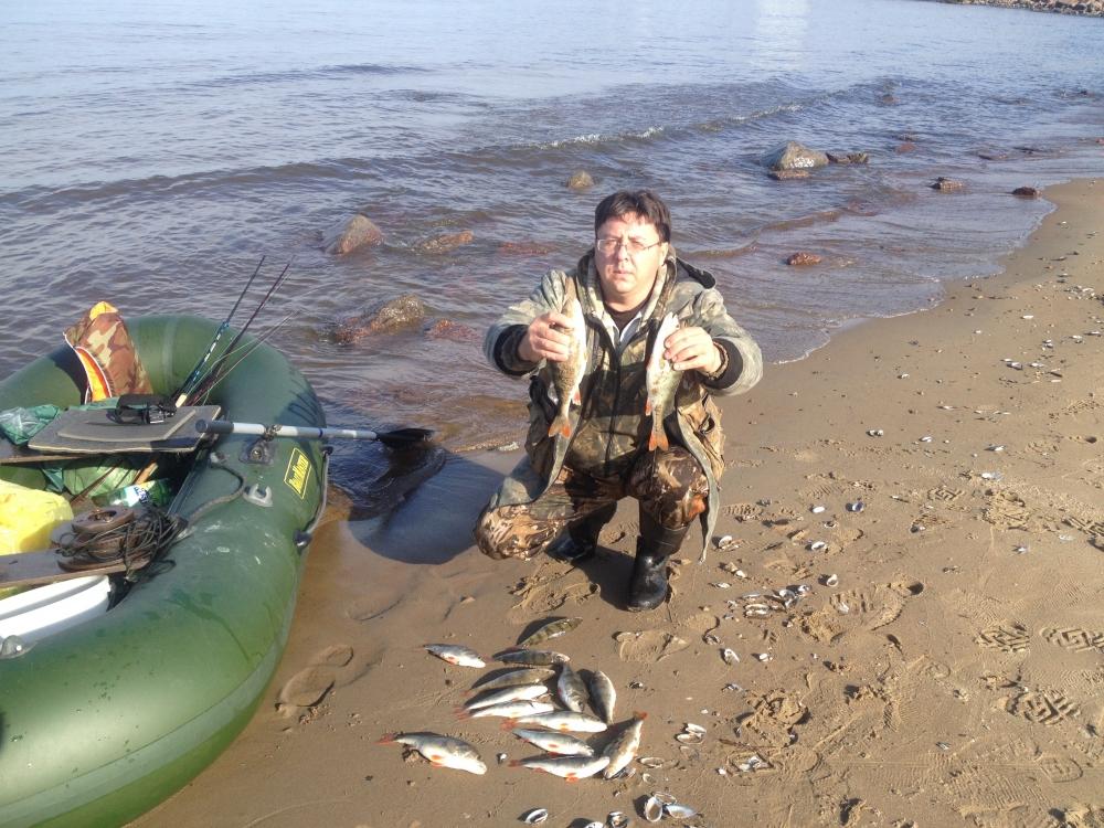 Рыбалка на сыдинском заливе