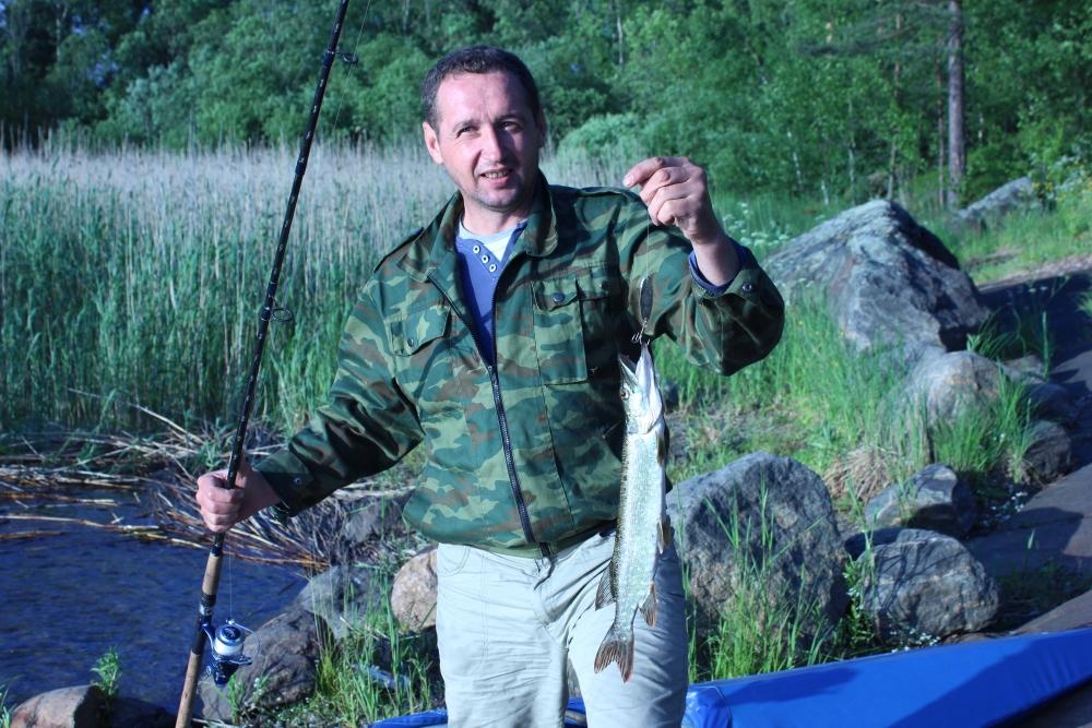 рыбалка в березово на ладоге