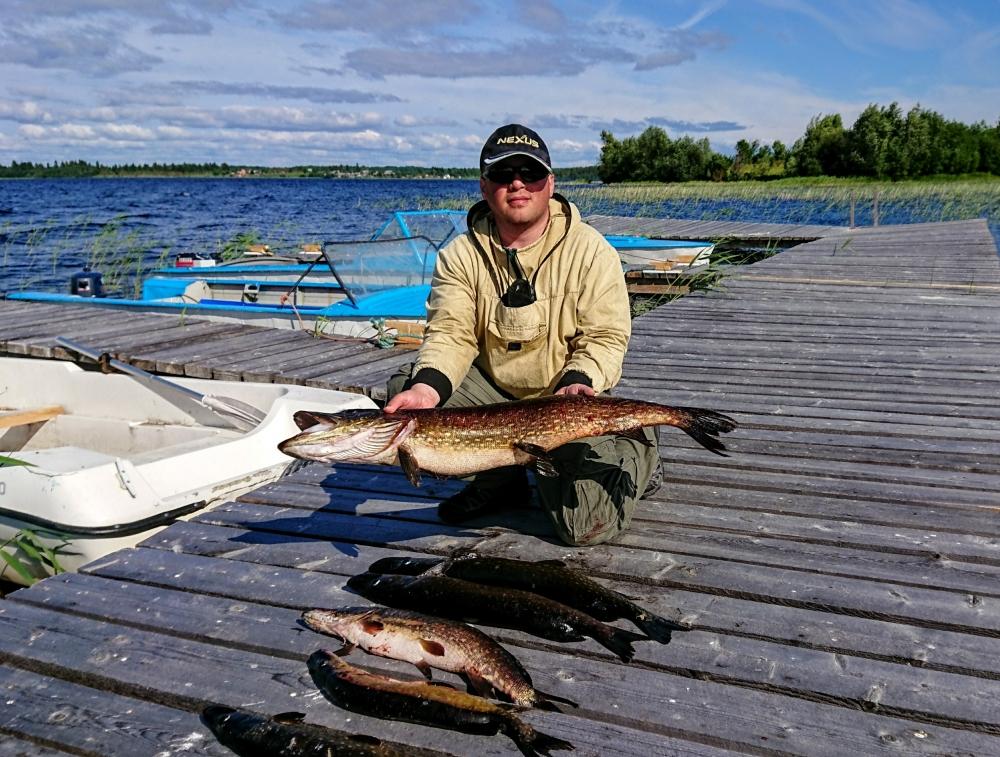 рыбалка на карельском озере