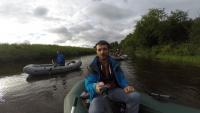 сплав с рыбалкой по реке мезень